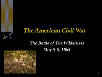 American Civil War - Battle of The Wilderness