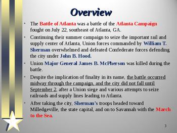 American Civil War - Battle of Atlanta
