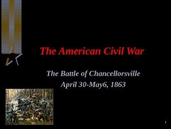 American Civil War - Battle of Chancellorsville