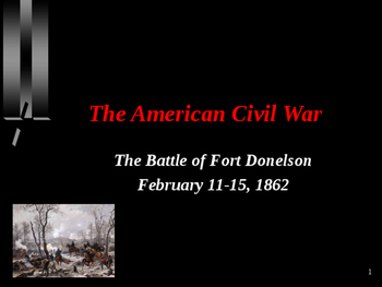 American Civil War - Battle of Fort Donelson