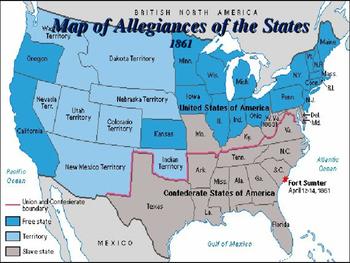 American Civil War - Battle of Fort Sumter
