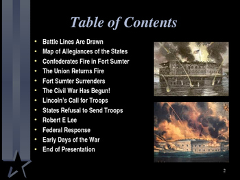American Civil War - Battle of Fort Sumter