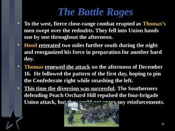 American Civil War - Battle of Nashville