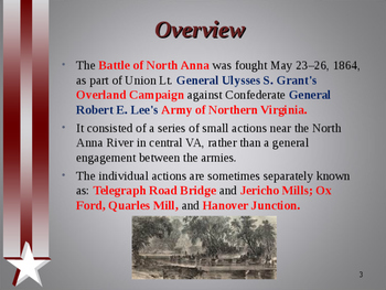 American Civil War - Battle of North Anna