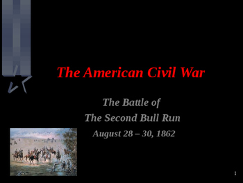 American Civil War - Battle of Second Bull Run