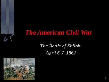 American Civil War - Battle of Shiloh