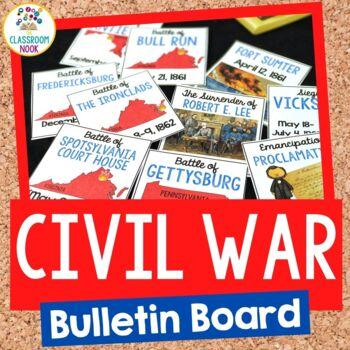 American Civil War:  Bulletin Board Set
