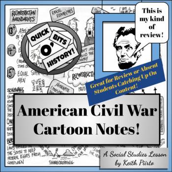 American Civil War Cartoon Notes