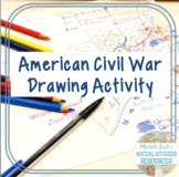 American Civil War Introduction Drawing Activity