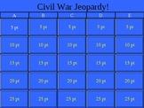 American Civil War Jeopardy!