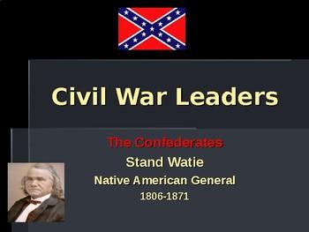 American Civil War - Key Leaders - Confederate - Stand Watie