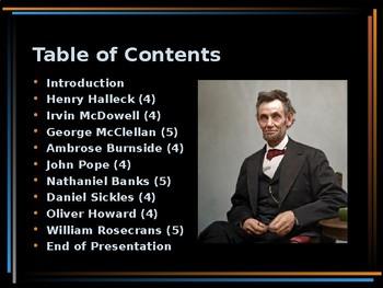 American Civil War - Lincoln's Worst Generals - Civil War Resumes