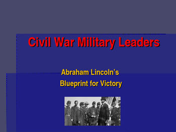 American Civil War - Lincoln's Blueprint for Victory