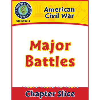 American Civil War: Major Battles Gr. 5-8