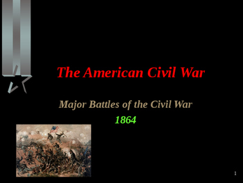 American Civil War - Major Battles of 1864