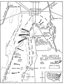 American Civil War Map Set