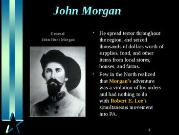 American Civil War - Morgan's Raid