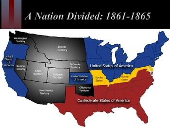 American Civil War - Northern Advantages v. Southern Advantages