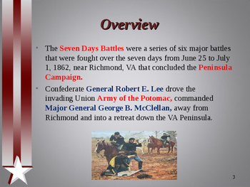 American Civil War - Seven Days Battles