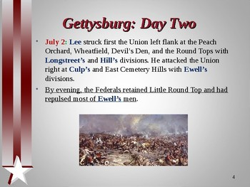 American Civil War - Battle of Gettysburg - Pickett's Charge