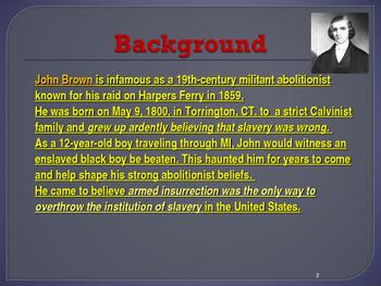 Political Movements & Events - Key Figures - John Brown