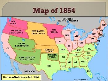 Political Movements & Events - The Kansas Nebraska Act of 1854