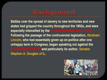 Political Movements & Events - The Lincoln-Douglas Debates