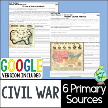 American Civil War Primary Sources, US Civil War Primary Documents