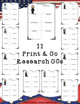 American Civil War Research Fold-Ems