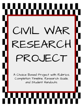 American Civil War Research Project