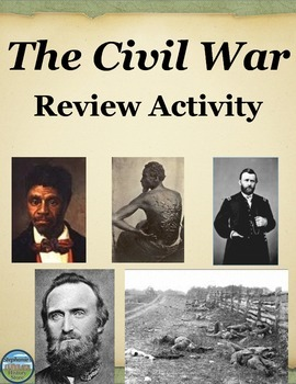 Civil War Review Activity