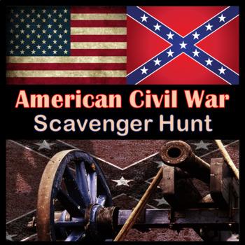 American Civil War Scavenger Hunt