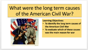 American Civil War Scheme of Work