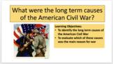 American Civil War Scheme of Work