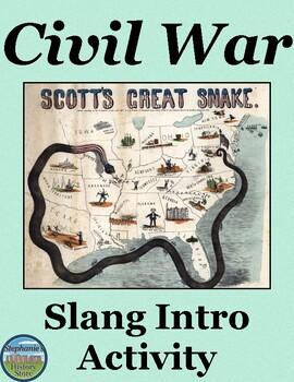 American Civil War Slang Intro Activity