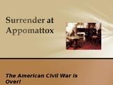 American Civil War - Surrender at Appomattox
