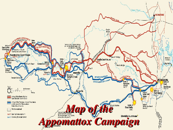 American Civil War - The Appomattox Campaign