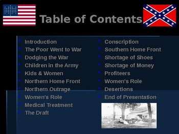 American Civil War - The Home Front
