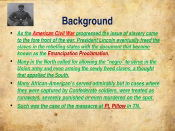 American Civil War - The Fort Pillow Massacre