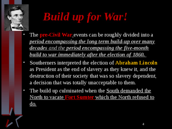 American Civil War - Major Battles - Eastern Theater - 1861-1865