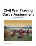 American Civil War Trading Cards Assignment