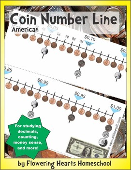 American Coin Number Line