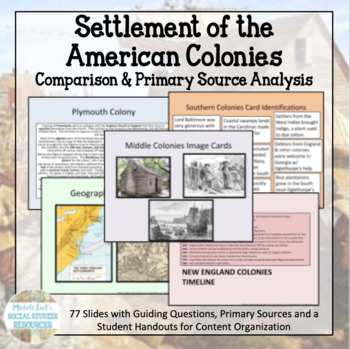 American Colonial Settlement Centers Activity or Archeological Dig!