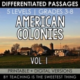 American Colonies: Passages (Vol. 1)