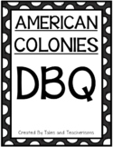 American Colonies Document Based Question