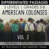 American Colonies: Passages (Vol. 2)