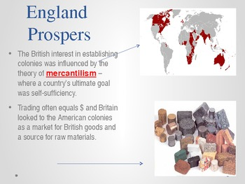 American Colonies Power point - British Imperialism and Slavery