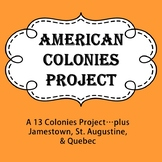 American Colonies Project (including Jamestown, St. August