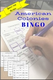 BINGO: American Colonies Review Game