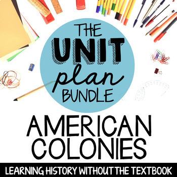 American Colonies UNIT (without passages) - Part 1